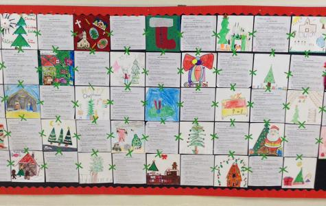 Second Grade Christmas Tradition Quilt