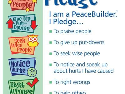 Peace Builders of the Week