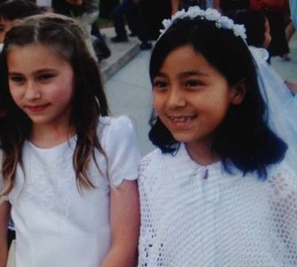My first communion at St.Philips.