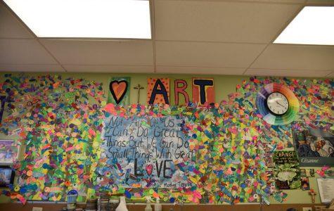 Schoolwide Hummingbird Mural