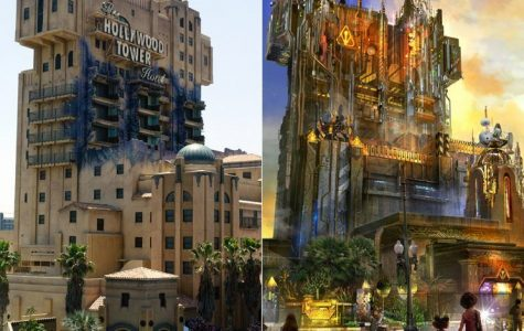 Tower of Terror changing theme
