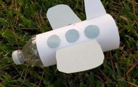 DIY Water Bottle Craft