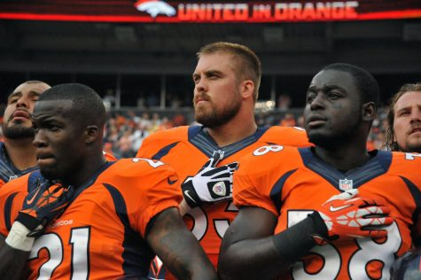 NFL players sitting during National Anthem