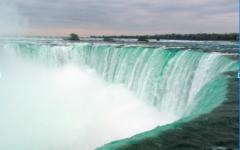 Boy Falls Over Railing At Niagara Falls