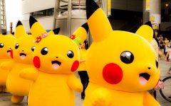 Pikachus walking on Japan's Streets?!