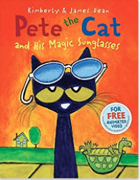 Pete the cat and his magical sunglasses!