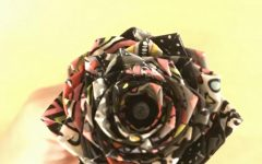 Flower Duct Tape Pen