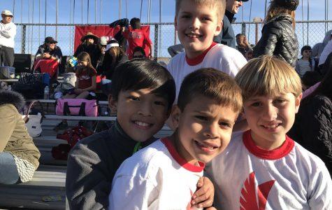 Third Grader's First Track Season