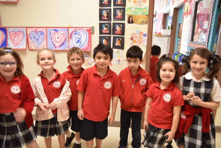 Kindergarteners and their Lenten Promises