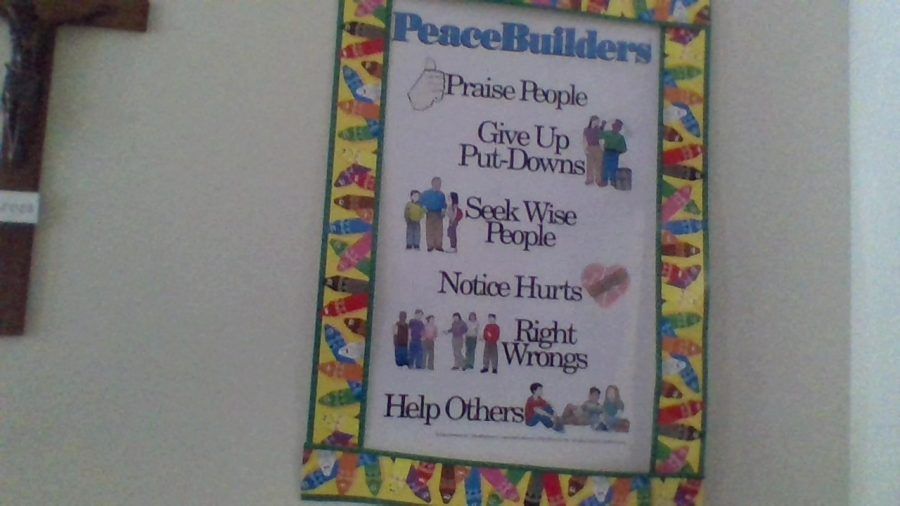 What is the Peacebuilders Pledge?