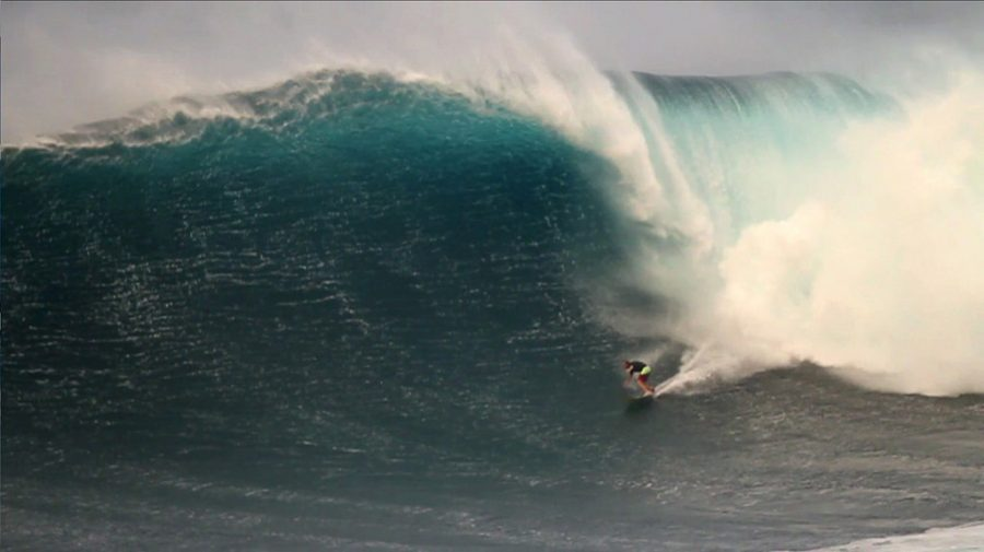 A Brazilian Surfer Rides the Biggest Wave Ever!