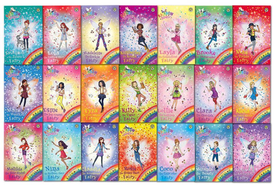 3-5 Readers Corner: Rainbow Magic Books