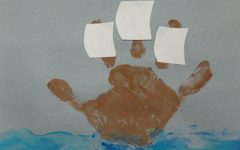 Mayflower Hand Painting