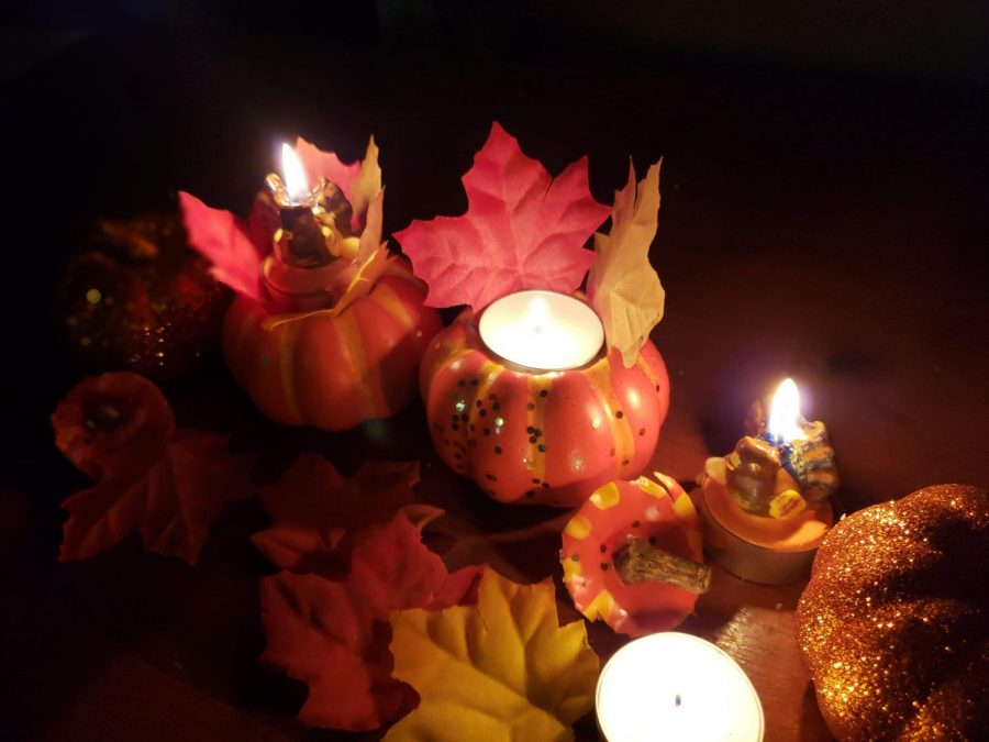 Thanksgiving Candle Holders