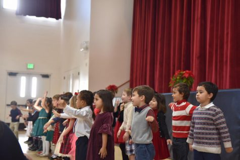 TK Students Learn How to Attend Mass