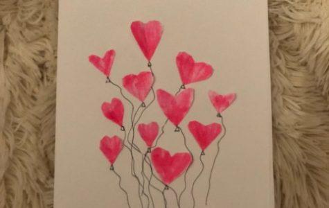 Homemade Valentine's Day Card!