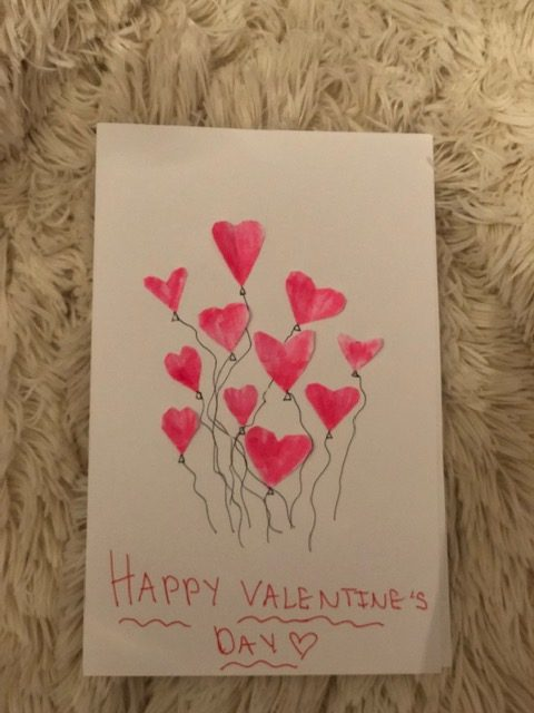 Homemade Valentine's Day Card!