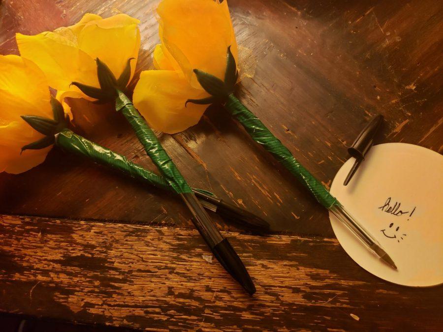 Flower+Pens