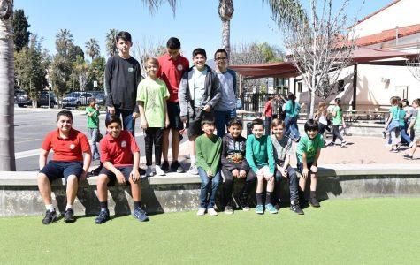 Boy's School Volleyball Starting